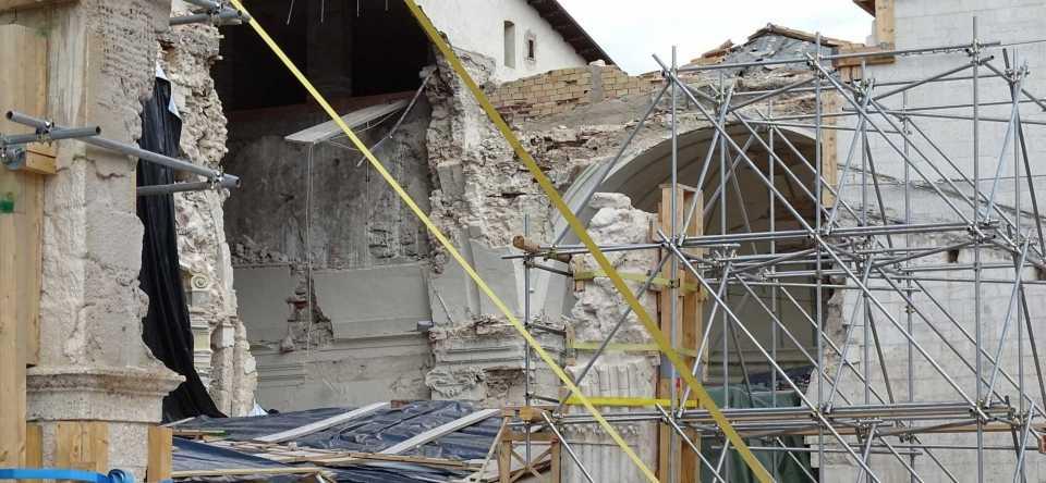basilica san benedetto norcia distrutta