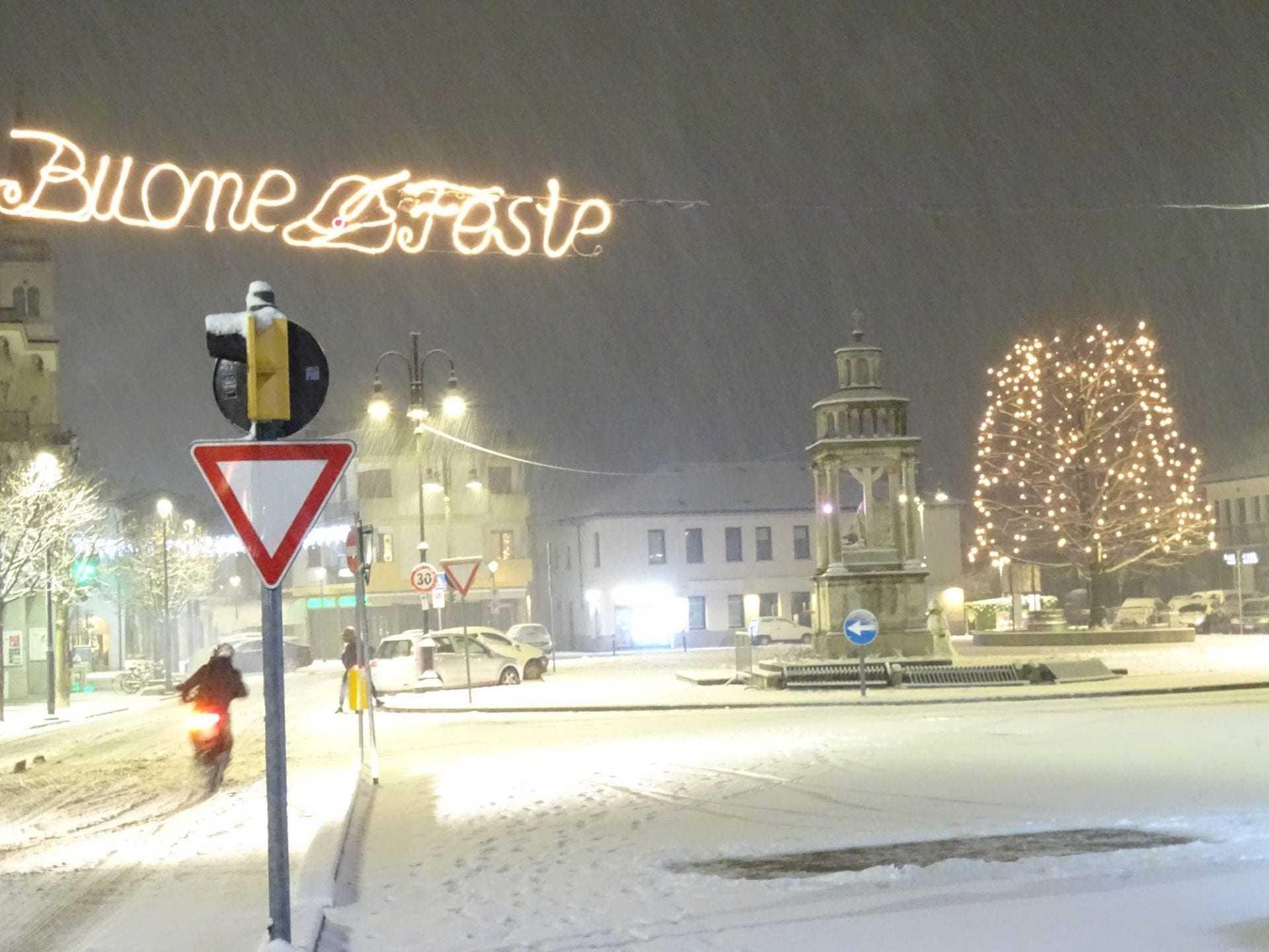 Natale con la neve a Zero Branco